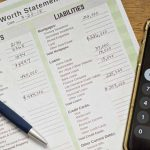 Net worth worksheet and calculator; learning how to calculate net worth