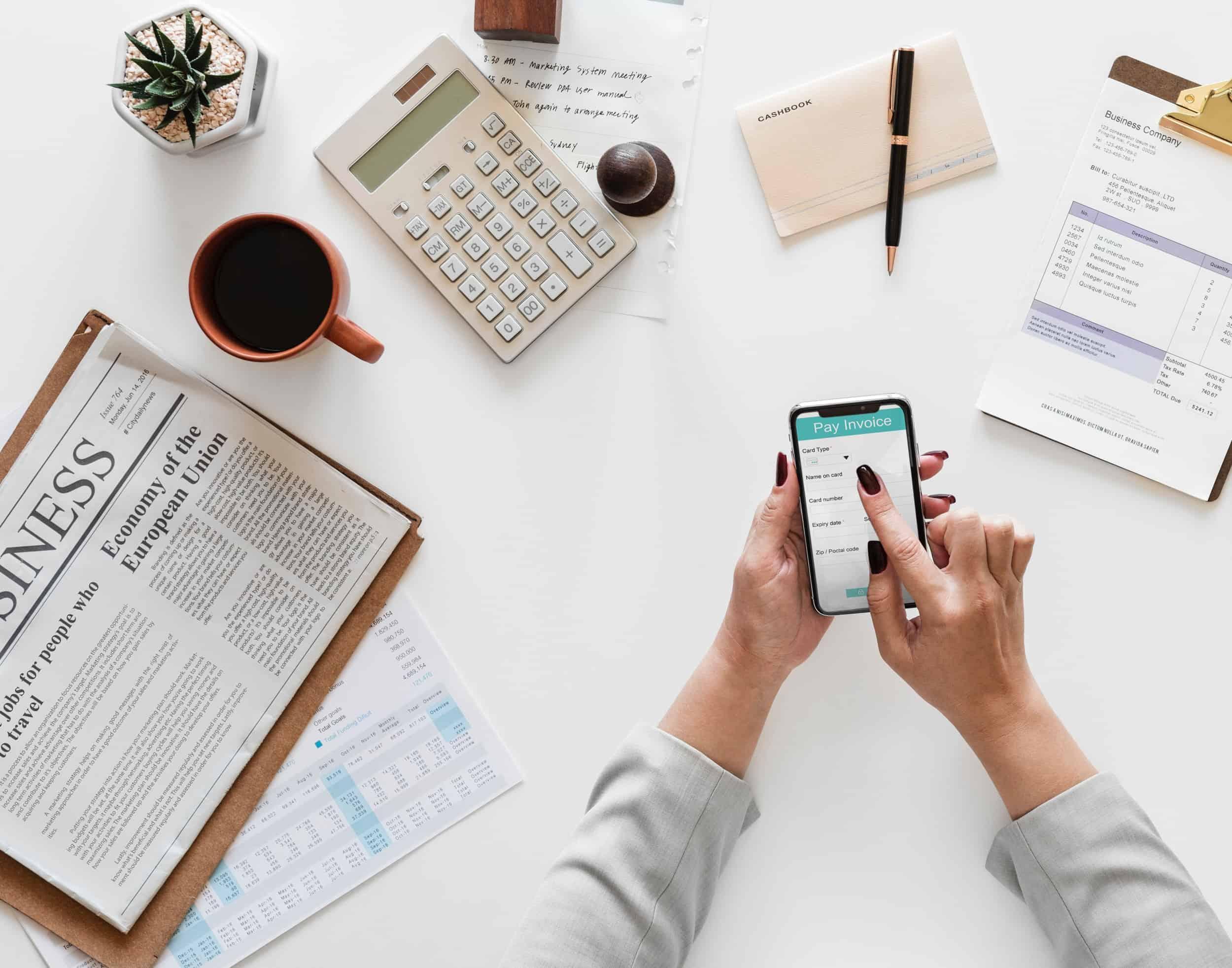 Calculating weekly financial progress