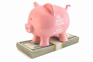Piggy Bank representing savings