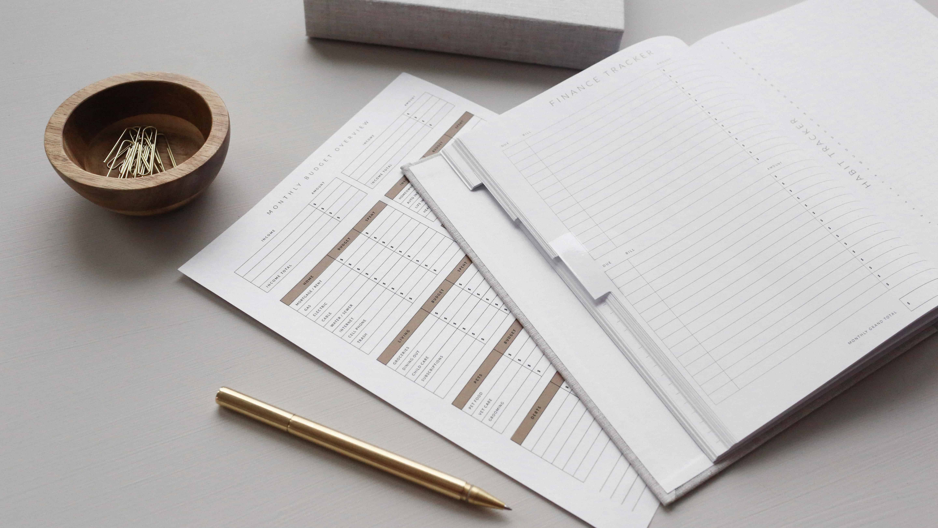 Budget Sheet and Finance Tracker