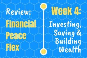 Financial Peace University Lesson 4