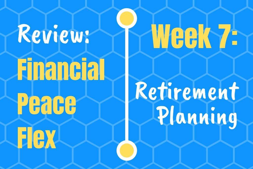 Financial Peace Week 7