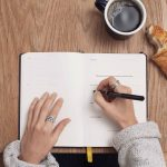 A journal to start writing your 2021 goals now