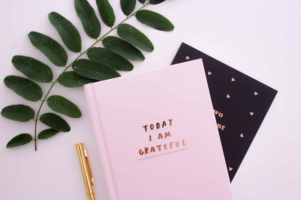 A journal to practice daily mindset habits