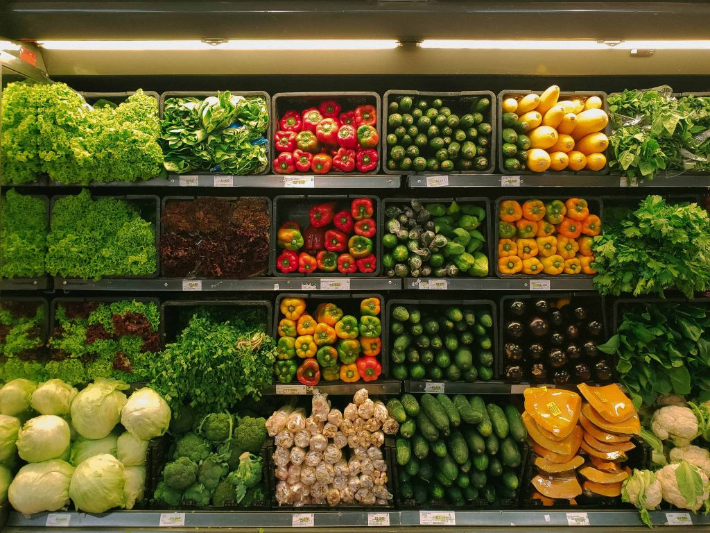 Produce Section for how to stretch your food budget