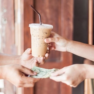 Buying a coffee Latte Factor