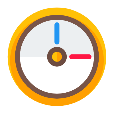Illustration of clock