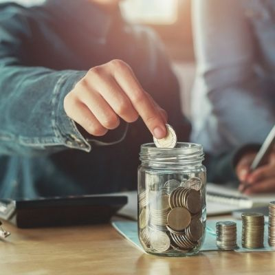 Saving money and living within your means