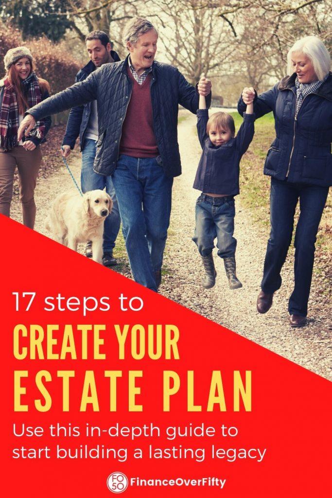 Estate Planning Checklist pin