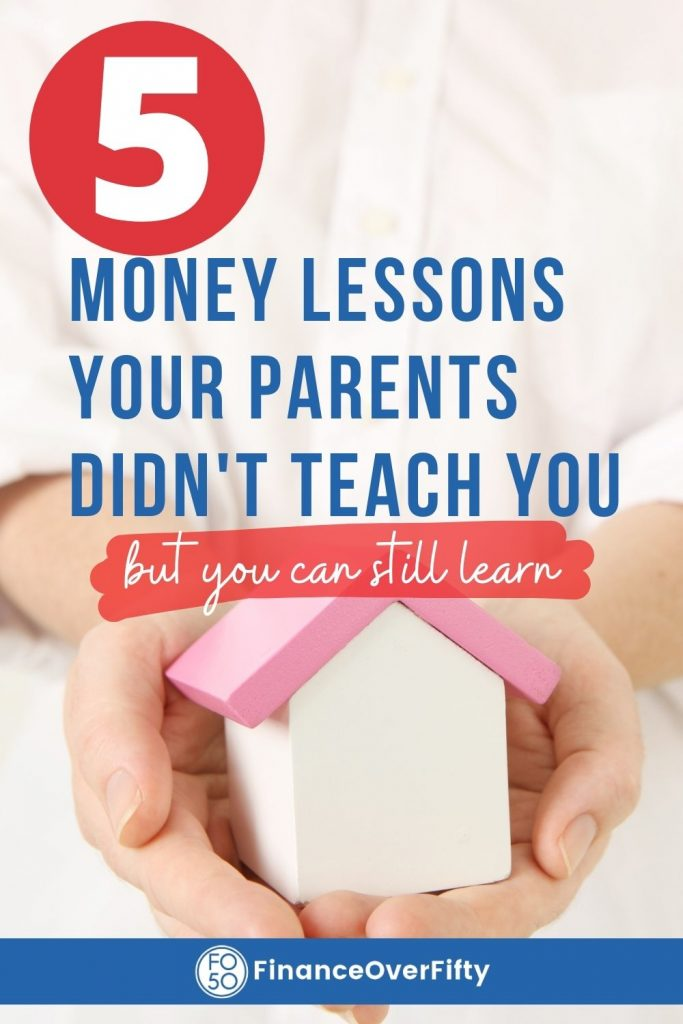 5 Money Lessons pin