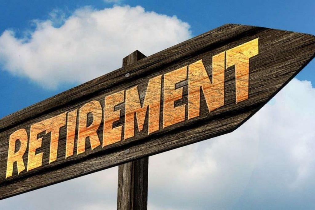 Retirement Roadmap Sign