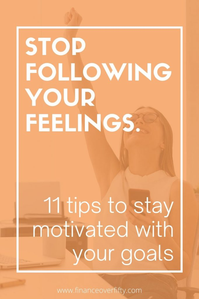 Tips to Stay Motivated pin