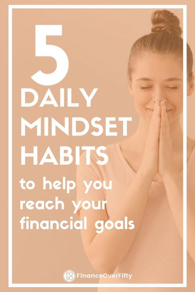 Daily Mindset Habits pin