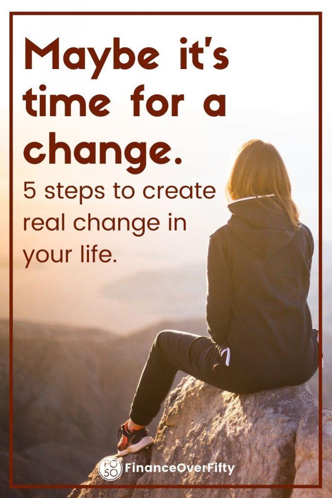 5 Principles of Change pin
