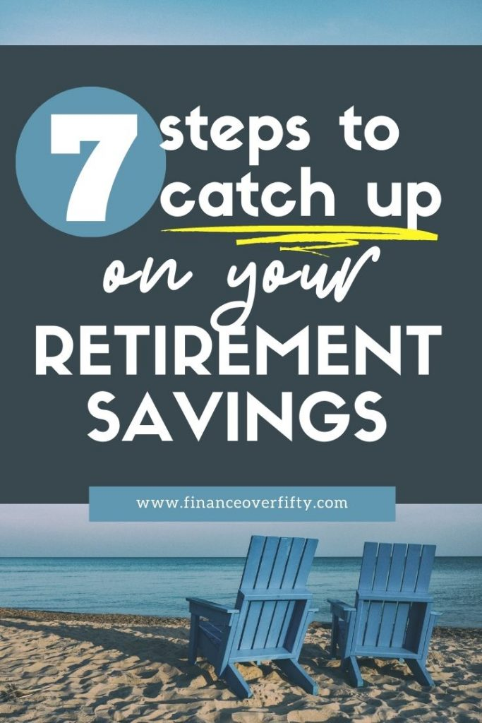 Behind on Retirement Savings pin