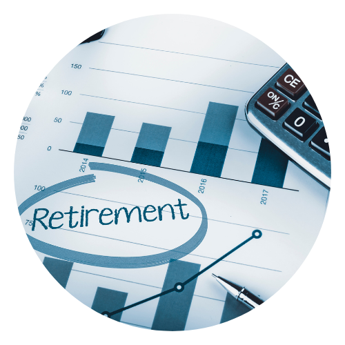 Retirement fund graph
