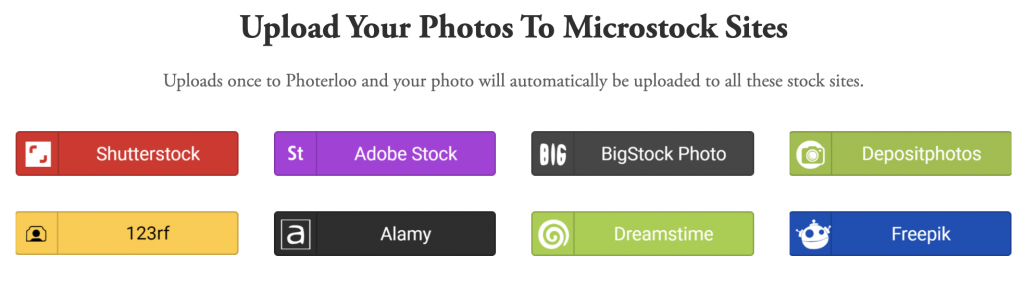 Photerloo Website screenshot