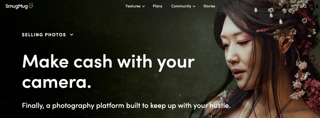 Smugmug Website screenshot