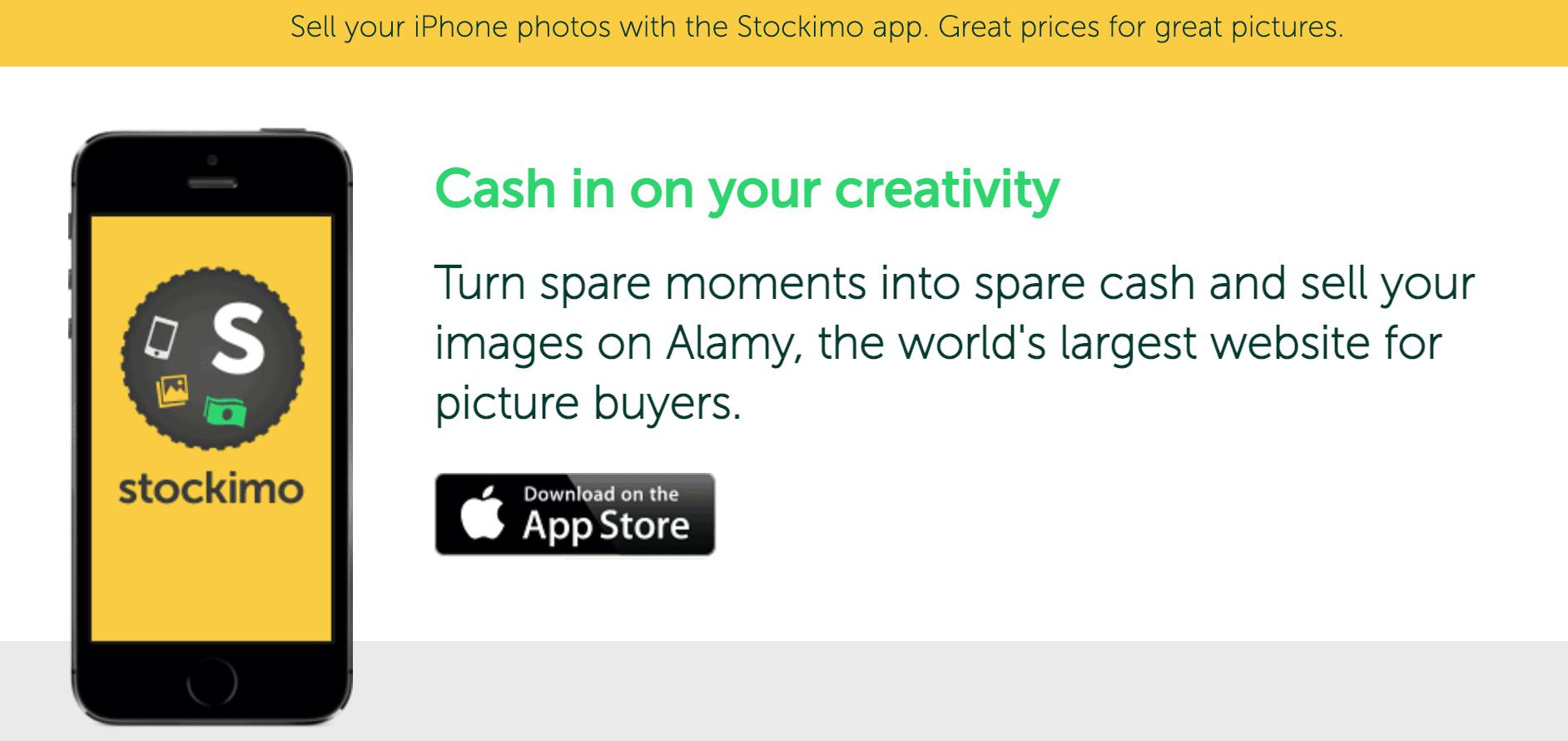 Stockimo Site screenshot