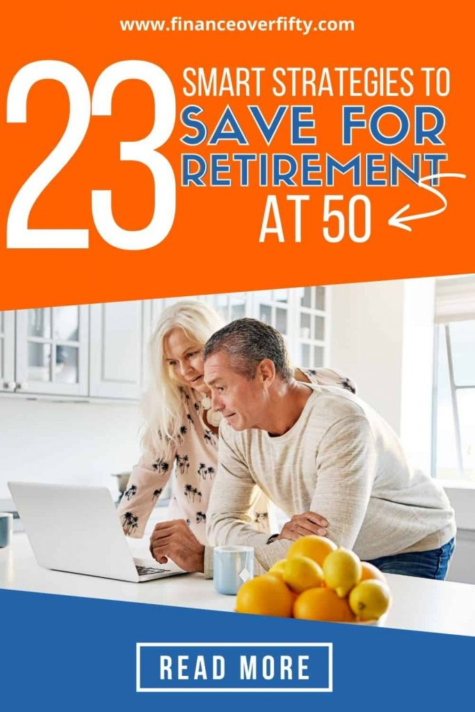 Saving For Retirement At 50 pin