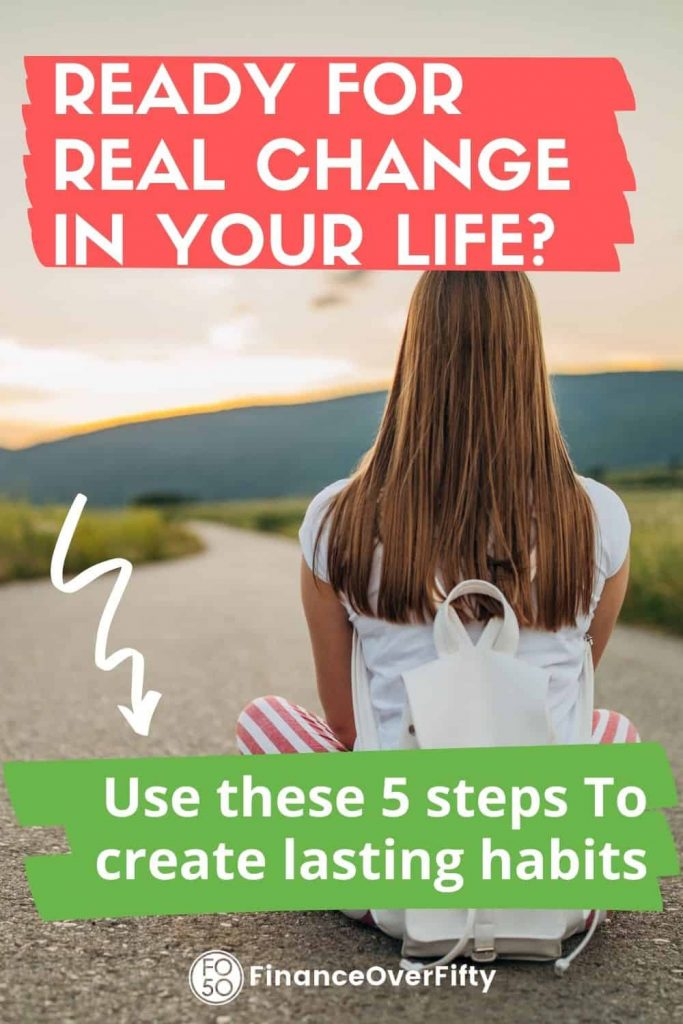 How To Create Lasting Habits pin