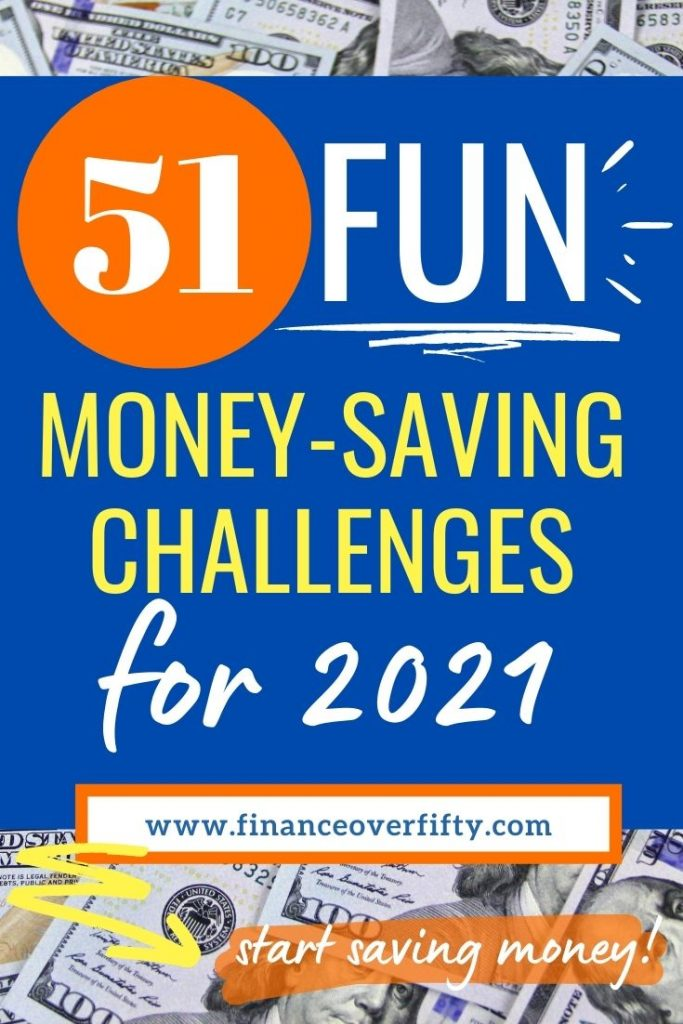 Money Saving Challenges pin