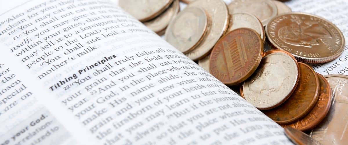 Bible verse about tithing