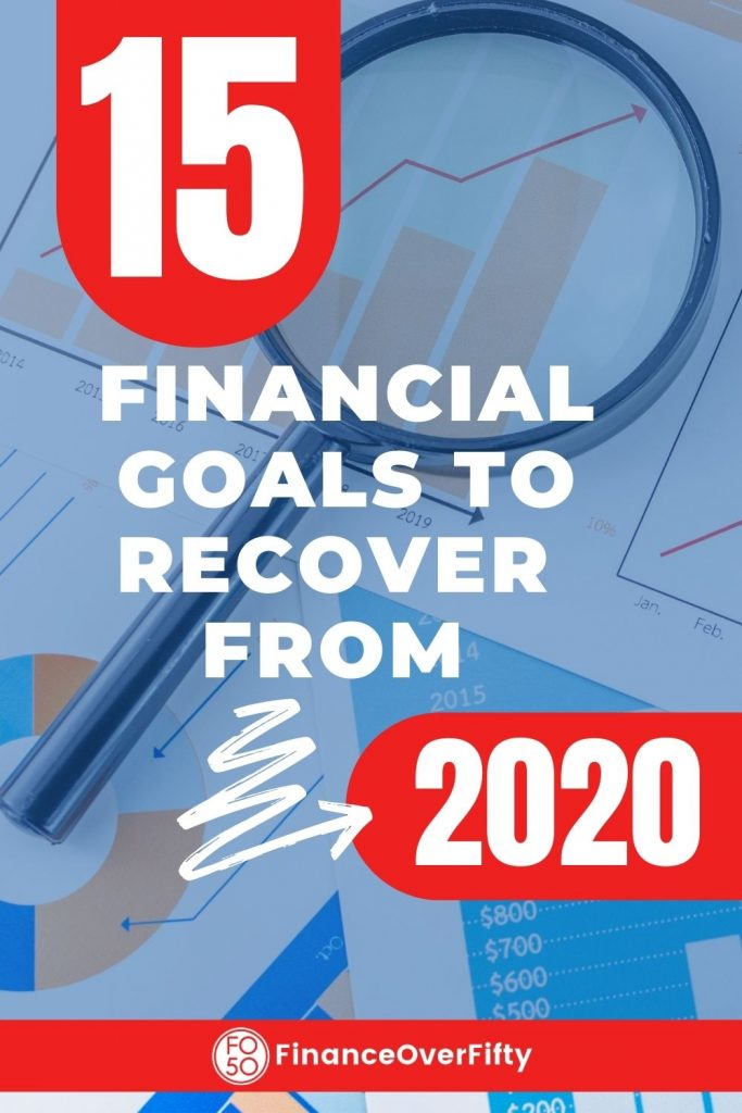 Financial Goals pin