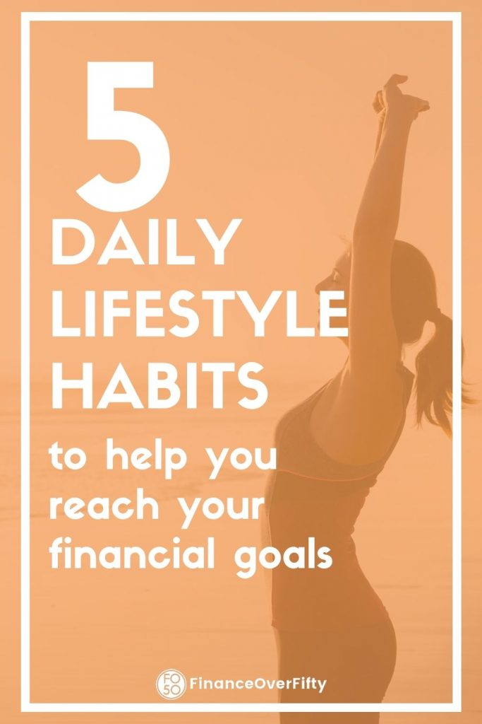 Daily lifestyle habits pin