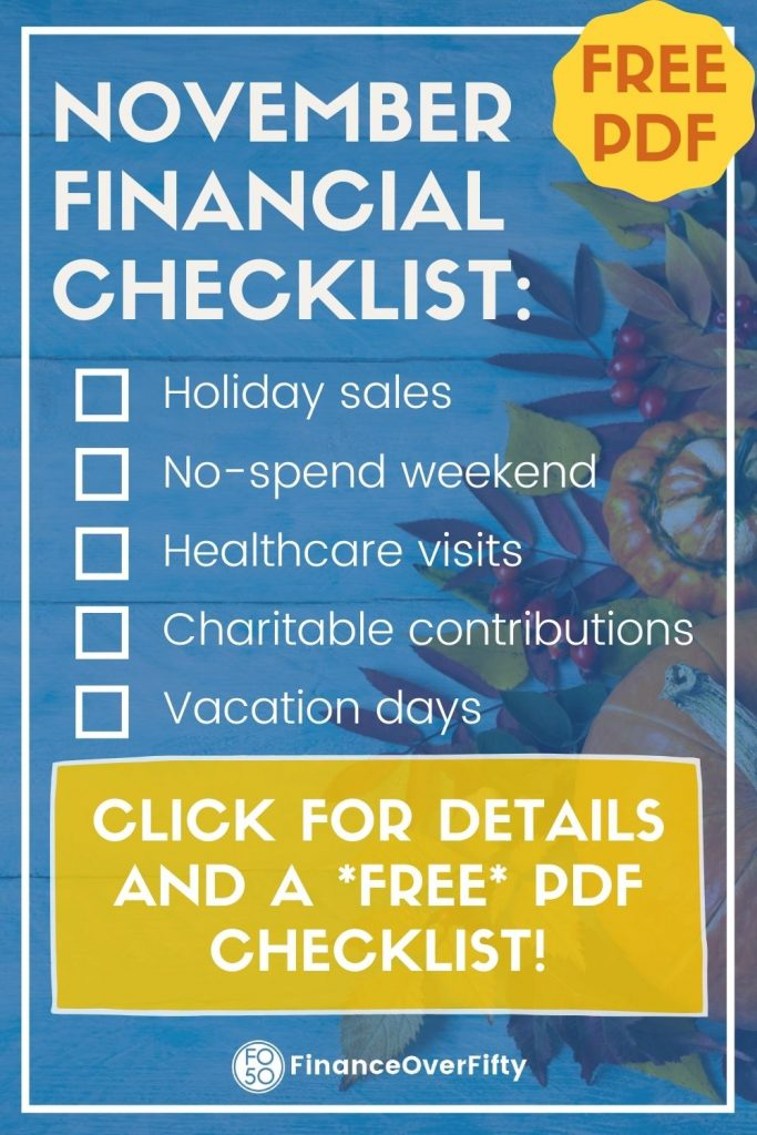 November Financial Checklist
